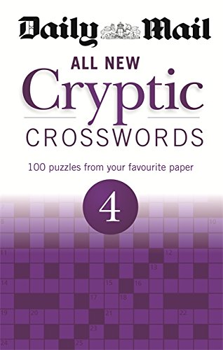 The Daily Mail: All New Cryptic Crosswords 4 (The Daily Mail Puzzle Books)