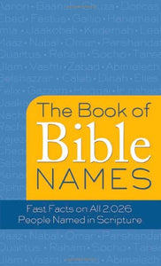 The Books Of Bible Names (Value Books)