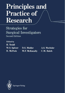 Principles And Practice Of Research: Strategies For Surgical Investigators