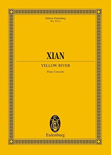 Yellow River Piano Concerto Study Score (Edition Eulenburg)