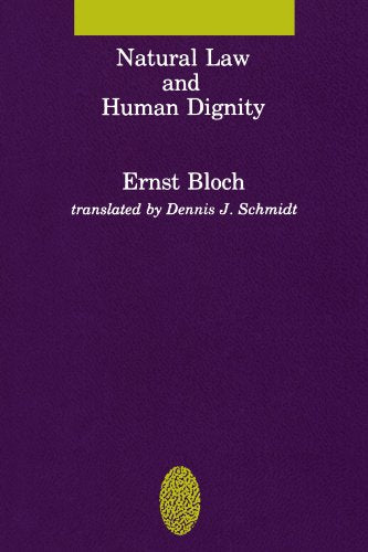 Natural Law And Human Dignity (Studies In Contemporary German Social Thought)