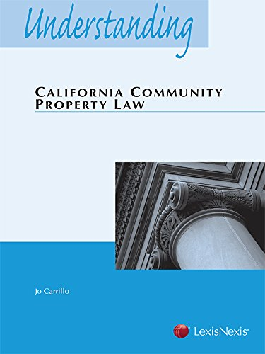 Understanding California Community Property Law (2015)