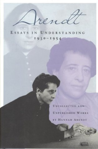 Essays In Understanding: 1930-1954