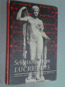 Selections From Lucretius