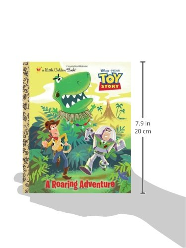 A Roaring Adventure (Disney/Pixar Toy Story) (Little Golden Book)