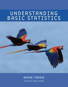 Student Solutions Manual For Brase/Brase'S Understanding Basic Statistics, Brief, 5Th