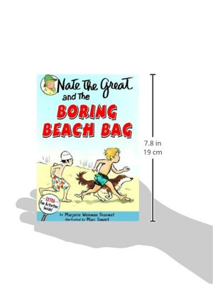 Nate The Great And The Boring Beach Bag (Turtleback School & Library Binding Edition) (Nate The Great Detective Stories)