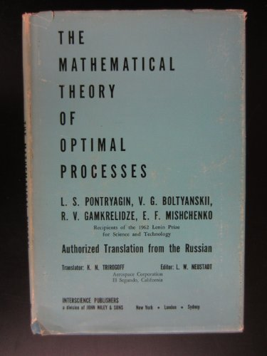 Mathematical Theory Of Optimal Processes