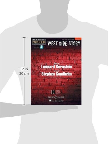 West Side Story: Piano Play-Along Volume 130 (Hal-Leonard Piano Play-Along)