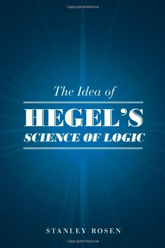The Idea Of Hegel'S Science Of Logic