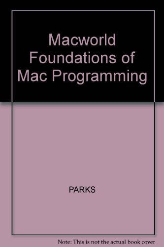 Foundations Of Mac Programming