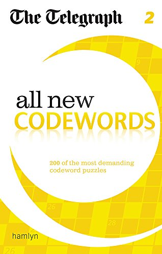 The Telegraph: All New Codewords 2 (Telegraph Puzzle Books)