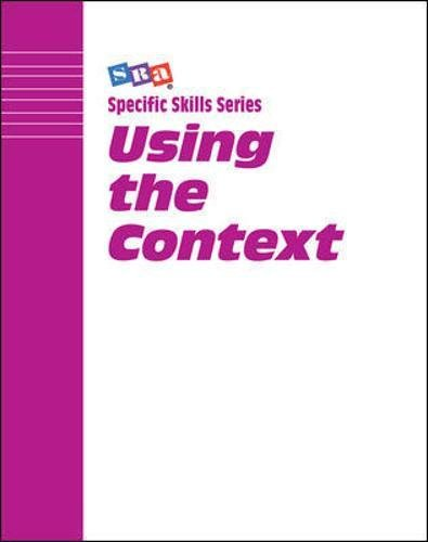 Using The Context: Level G (Specific Skills Series)