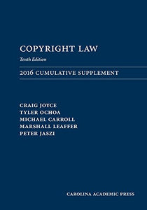 Copyright Law Document Supplement