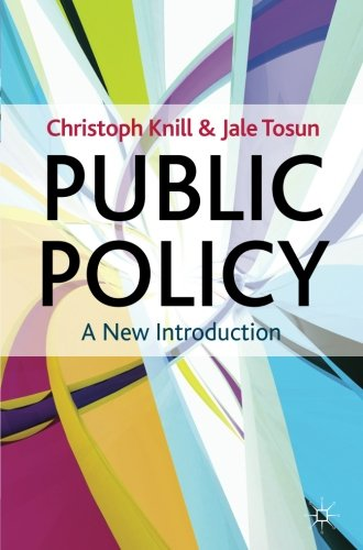 Public Policy: A New Introduction (The Public Policy Series)