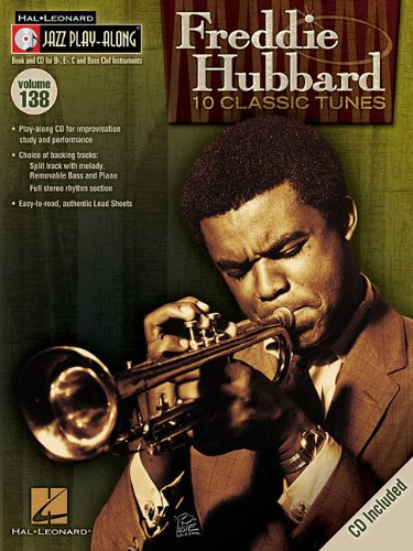 Freddie Hubbard - Jazz Play-Along Volume 138 Bk/Cd