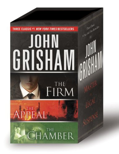 John Grisham 3-Copy Boxed Set: The Firm, The Appeal, The Chamber