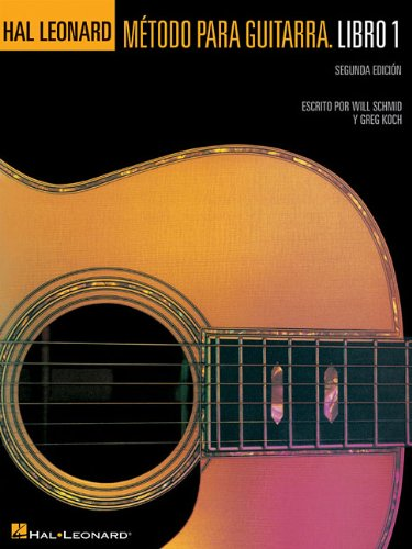 Spanish Hal Guitar Method Book 1 2Nd Edition