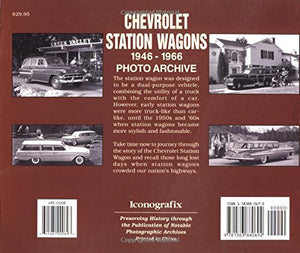 Chevrolet Station Wagons, 1946-1966: Photo Archive