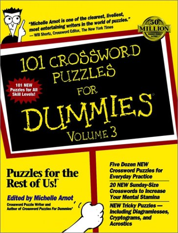 3: 101 Crossword Puzzles For Dummies