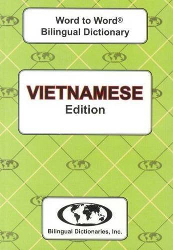 English-Vietnamese & Vietnamese-English Word-To-Word Dictionary: Suitable For Exams (English And Multilingual Edition)