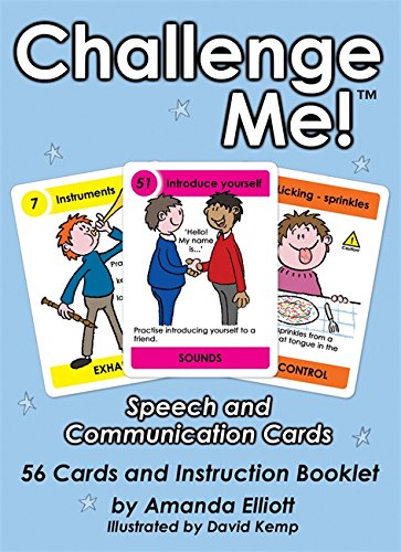 Challenge Me! (Tm): Speech And Communication Cards