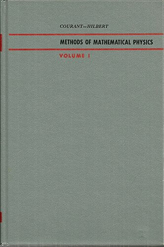 Methods Of Mathematical Physics, Vol. 1