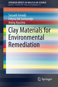 Clay Materials For Environmental Remediation (Springerbriefs In Molecular Science)