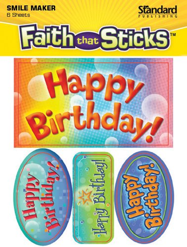 Happy Birthday! (Faith That Sticks Stickers)