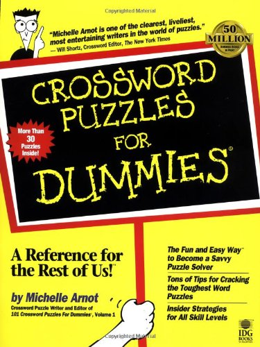 Crossword Puzzles For Dummies