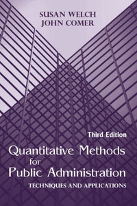 Quantitative Methods For Public Administration: Techniques And Applications