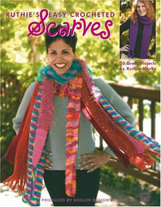 Ruthie'S Easy Crocheted Scarves  (Leisure Arts #3669)