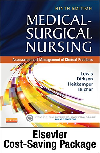 Medical-Surgical Nursing - Text And Elsevier Adaptive Quizzing (Access Card) Updated Edition Package: Assessment And Management Of Clinical Problems, 9E