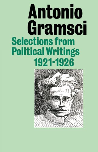 Selections From Political Writings 1921-26