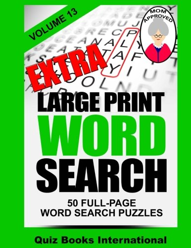 Extra Large Print Word Search Volume 13