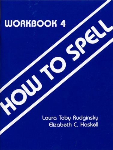 How To Spell Book 4