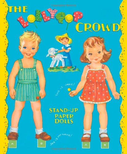 Lollypop Crowd Paper Dolls