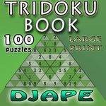Tridoku Book: Large Font - 100 Puzzles