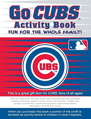 Go Cubs Activity Book (Go Series Activity Books)