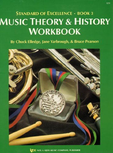 L23 - Standard Of Excellence: Theory & History Workbook Book 3