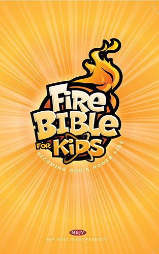 Fire Bible For Kids Hardcover Nkjv