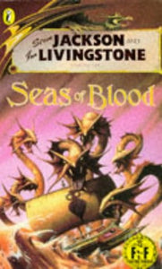 Seas Of Blood (Puffin Adventure Gamebooks)
