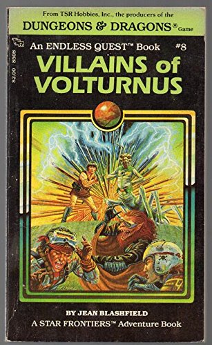 Villains Of Volturnus (Endless Quest, No 8)