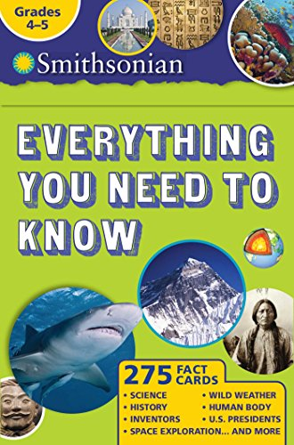 Smithsonian Everything You Need To Know: Grades 4-5