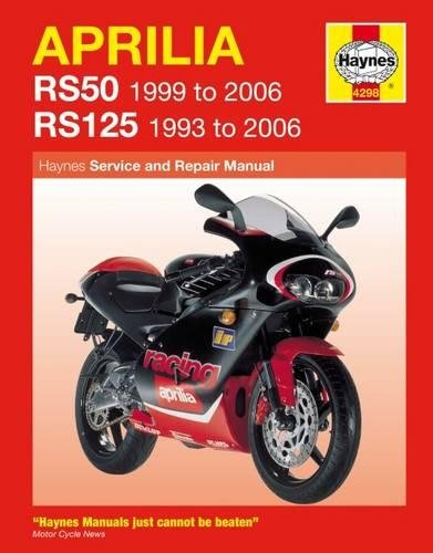 Aprilia Rs50 1999 To 2006/Rs125 1993 To 2006(Haynes Service & Repair Manuals)