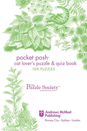 Pocket Posh Cat Lover'S Puzzle & Quiz Book: 100 Puzzles