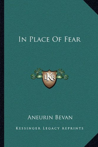 In Place Of Fear