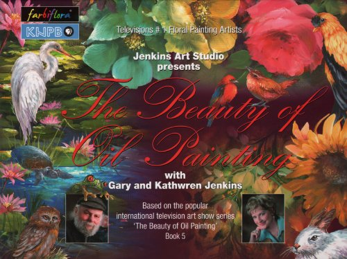 The Beauty Of Oil Painting, Book 5 (The Beauty Of Oil Painting Series)
