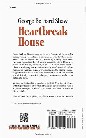 Heartbreak House (Dover Thrift Editions)