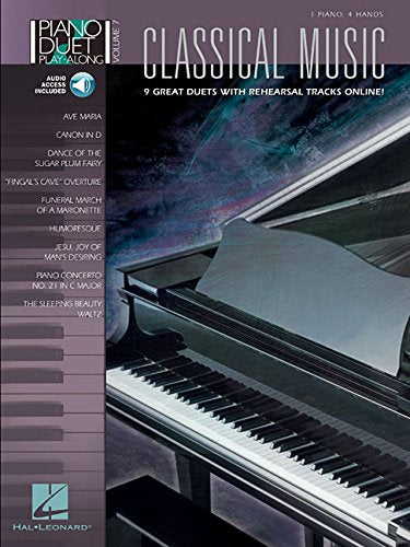 Classical Music: Piano Duet Play-Along Volume 7